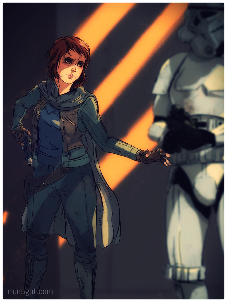 Rogue One Freedom Fighter by Moragot