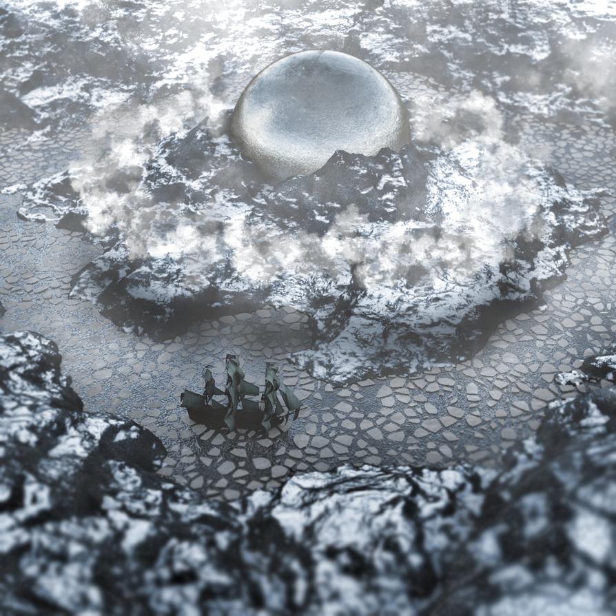 Icey Ship by INSPECTAH-DECKS
