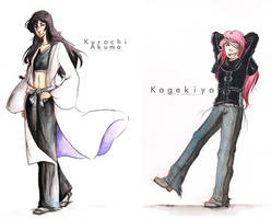 PC: Kurochi Akuma and Kagekiyo