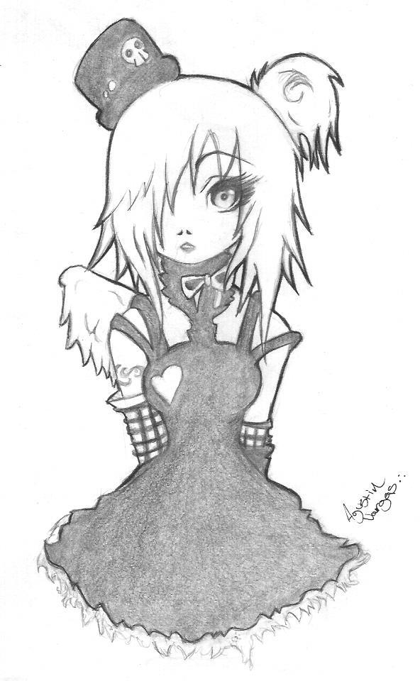Emo girl by mrcartoon on deviantart emo girl by mrcartoon voltagebd Choice Image