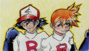 Here comes Team rocket