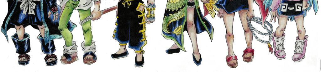 Shaman king +traditional drawing+ by Schitzo-Cupcake