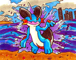 Who's That pokemon!?: Swampert *Commission* by Mister-Sukeruton