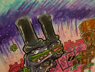 A Weezing Town