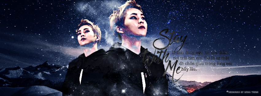EXO XIUMIN QUOTES-STAY WITH ME(EXO-CHANYEOLXPUNCH) by yoorajin