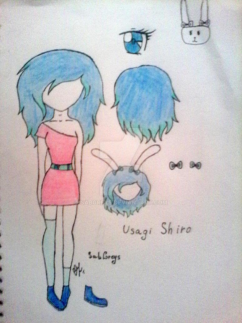 Usagi Shiro by SabGreys