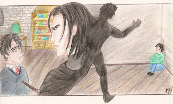 Snape memories... by Jafean