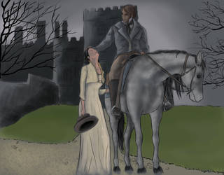 Jane and Rochester by Jafean
