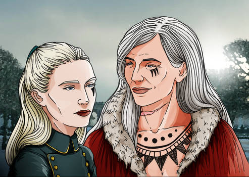 Capitain and queen
