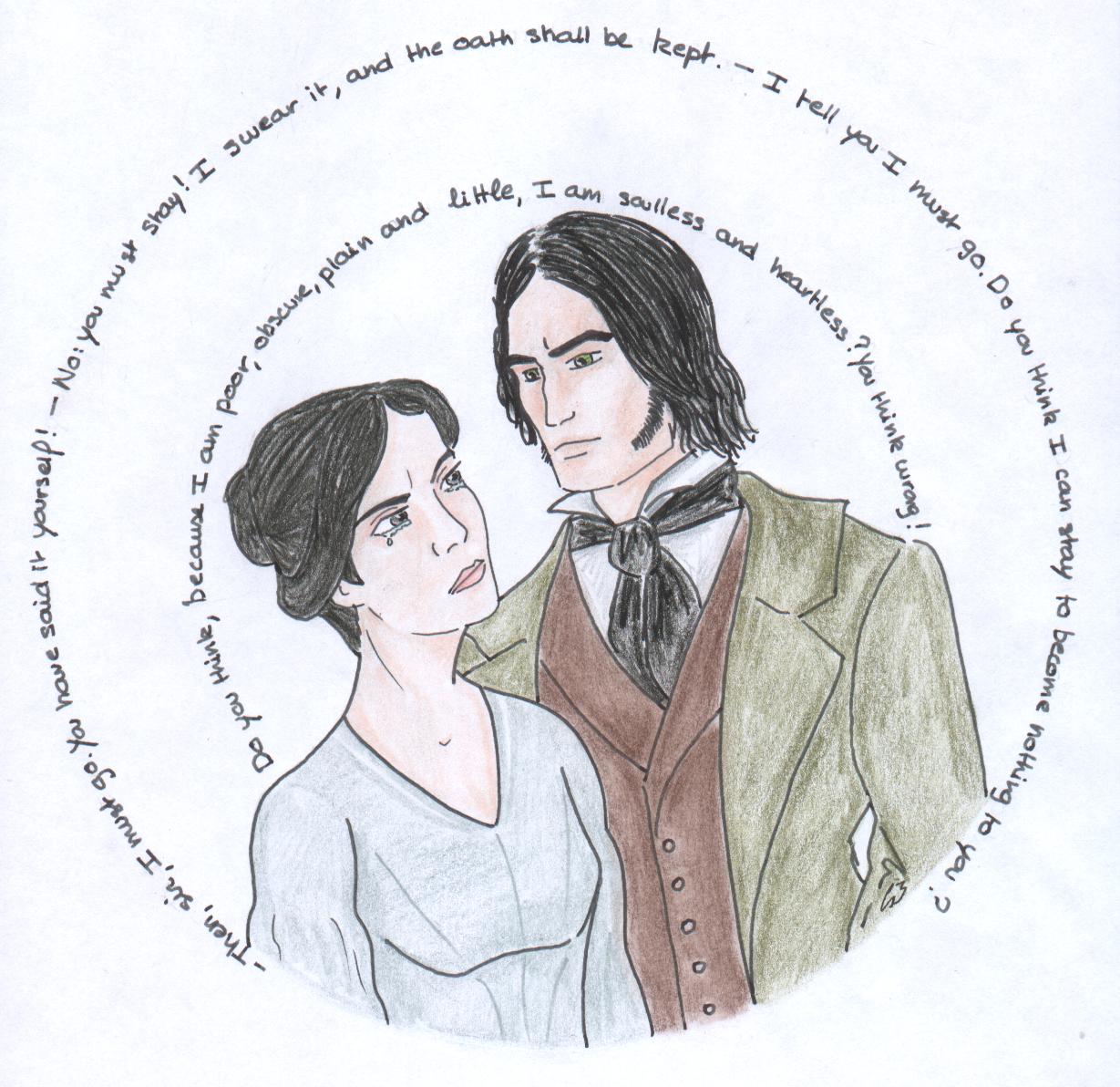 an analysis of the obstacle jane eyre and mr rochester must overcome An analysis of the beauty in jane eyre english literature essay the thesis focuses on the analysis of jane eyre's after jane accepted mr rochester.
