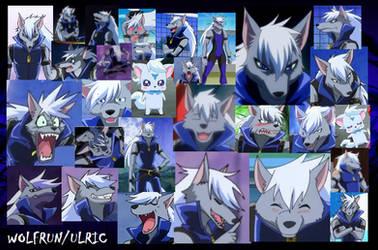 Wolfrun/Ulric Collage by cherrycreamfairy1997