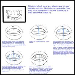 Mini  teeth tutorial