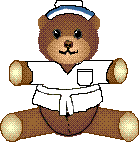 Country Folk Graphics 1999 | Nurse Teddy by DanaHaynes