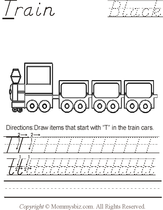 ... Train-BlacK Preschool Worksheet by DanaHaynes on DeviantArt