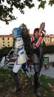 Mass Effect - Liara e Shepard - LCG 2013