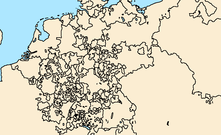 1700 map of Holy Roman Empire by AblDeGaulle45 on DeviantArt