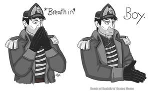 Exasperated Commissar Meme
