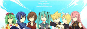 VOCALOID and MEGPOID by TheMunez16