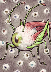 Buggy Eyeball by EquusTenebriss