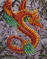 Quetzalcoatl by TabLynn