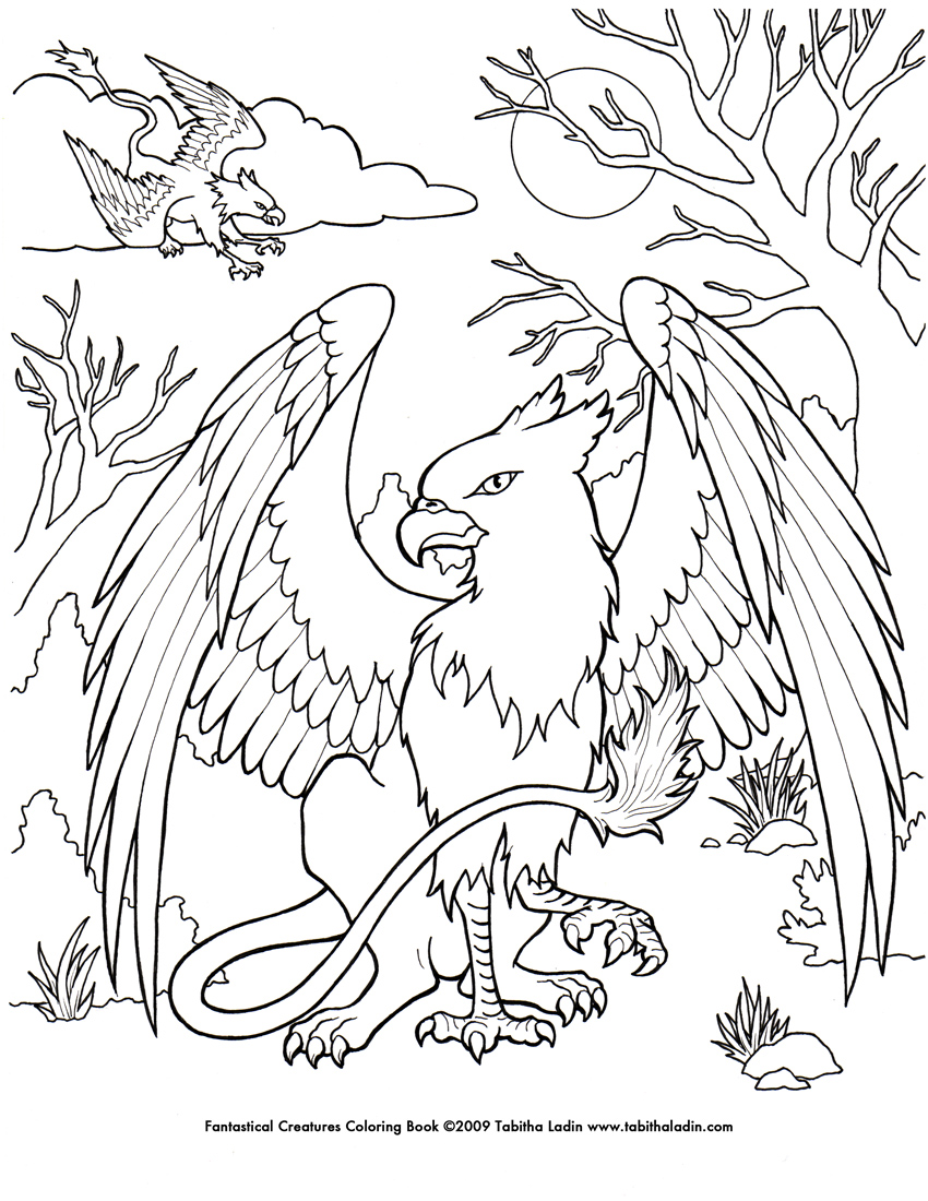 ocean dragon coloring pages - photo#23