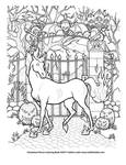 Nightmare coloring page