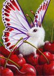 Cherry Jubilee ATC