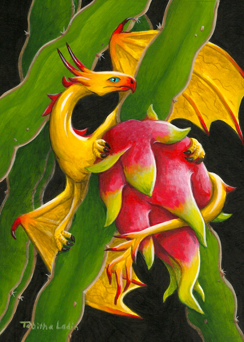 Fruit Dragonette by TabLynn