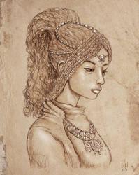 Exotic princess by DQuaro