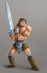 Barbarian by DQuaro