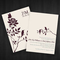 Wedding Invitation : 04 by vanityclaire