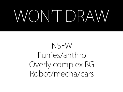 Won't Draw by theartisserie