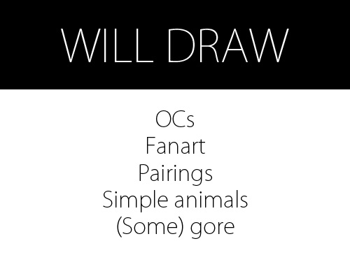 Will Draw by theartisserie