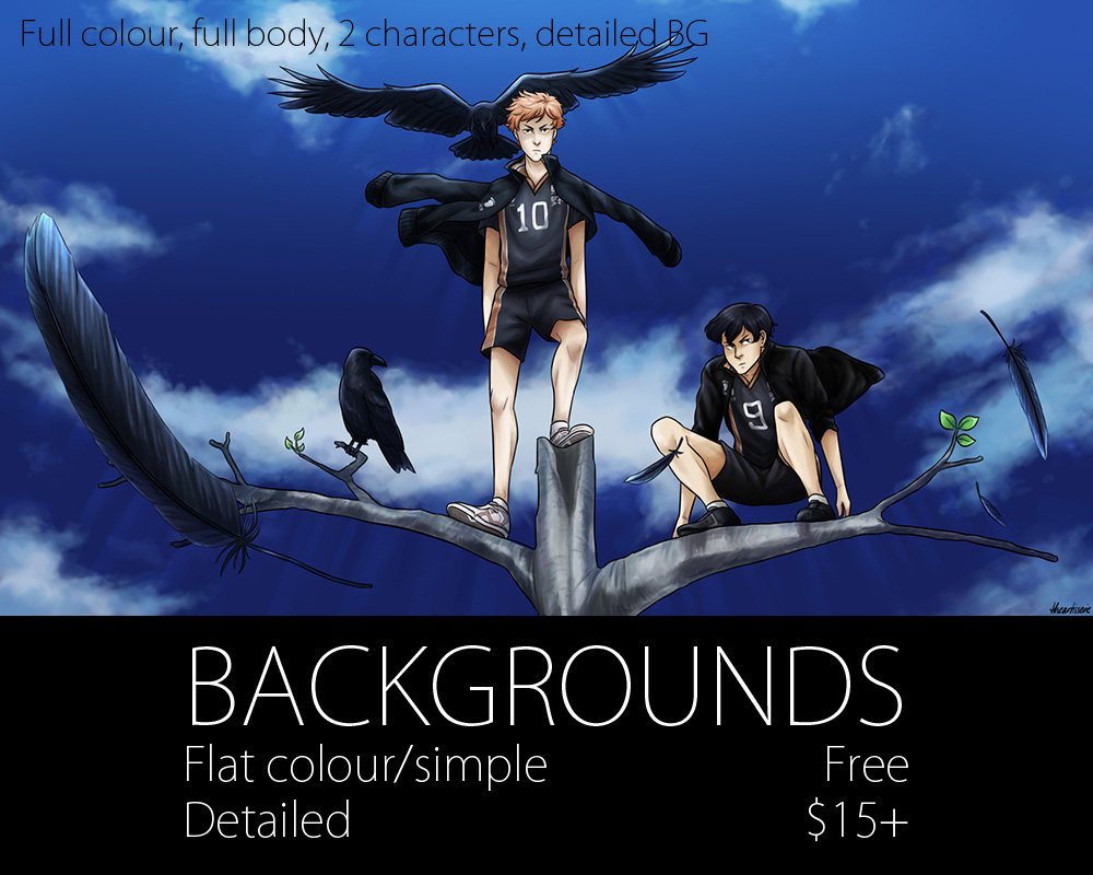 Backgrounds by theartisserie