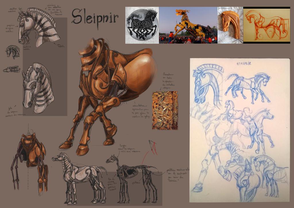 Sleipnir Concept by Popuche