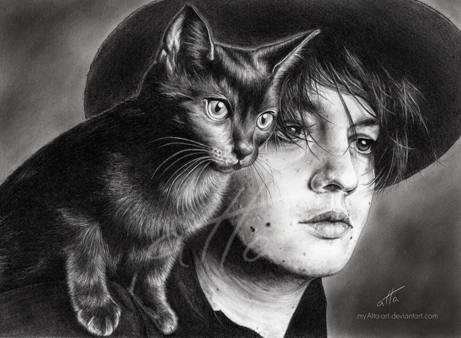 Pete Doherty by myAtta-art