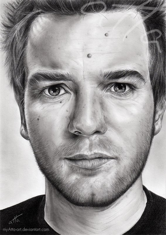 Ewan McGregor by myAtta-art