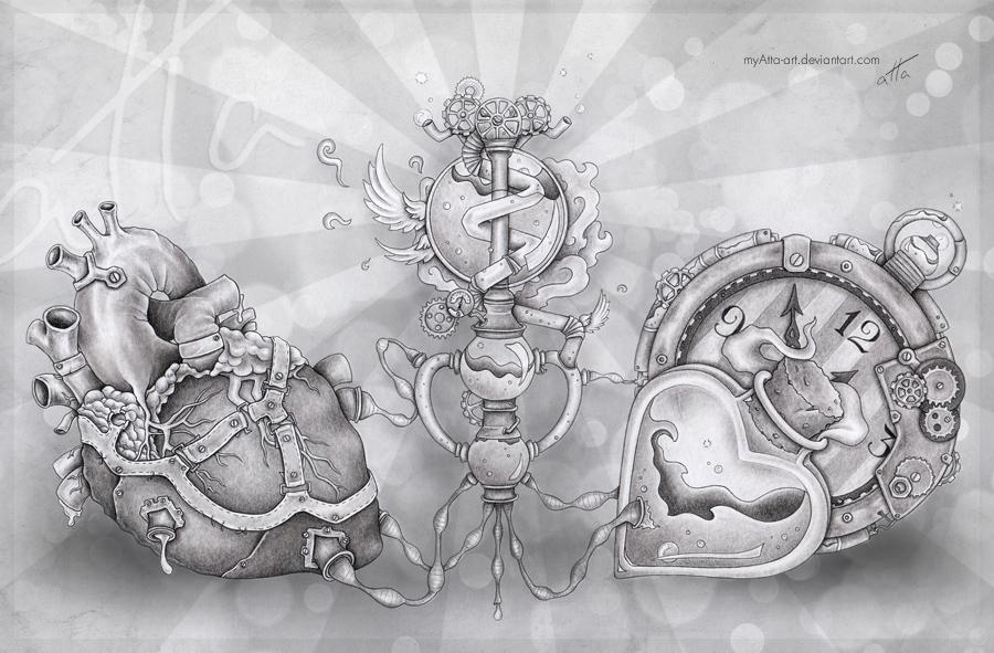 Life Potion by myAtta-art