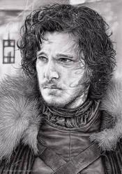 Jon Snow by myAtta-art
