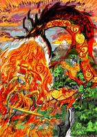 Viviane and dragon color