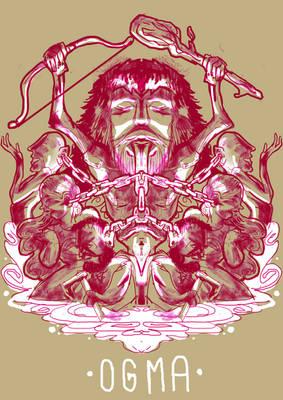 Ogma, celtic god of eloquence