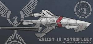 Union Astrofleet Type-II Scout Destroyer
