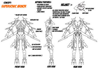 Supersonic power armor by firestrike2