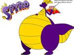 Spyro (My Version and my Oc)