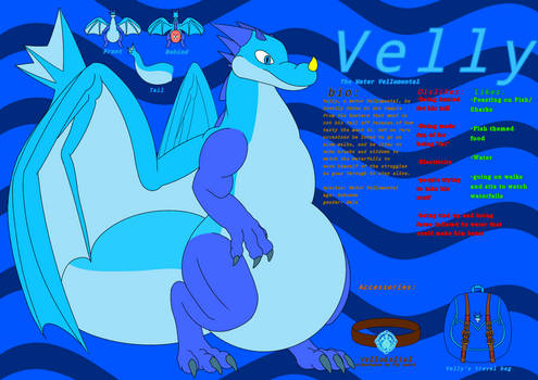Velly, The Water Vellumental