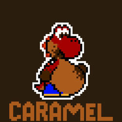 Caramel the Yoshi