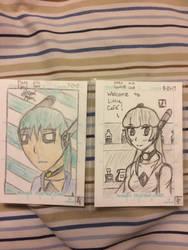 Draw this again! MARS Kyzuki trading card by KaiphasVonSchroder