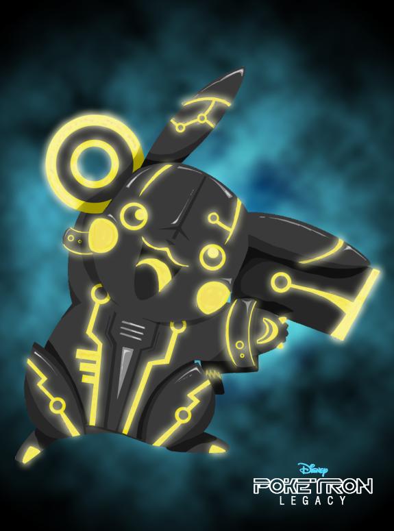 Poketron Legacy - Pikatron by KikiiMcI