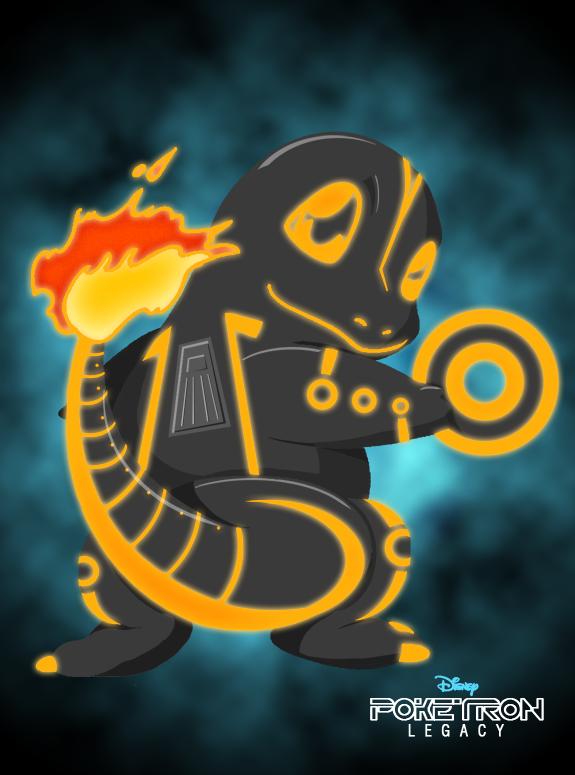 Poketron Legacy - Tronmander by KikiiMcI