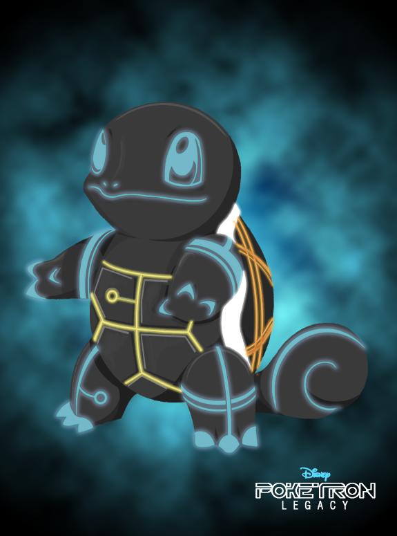 Poketron Legacy - Squirtron by KikiiMcI